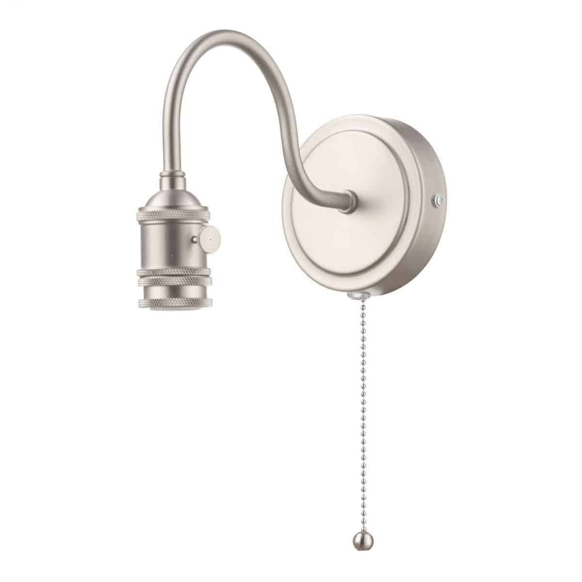 Dar SPW0761 Accessory 1 Light Wall Light Antique Chrome Bracket Only
