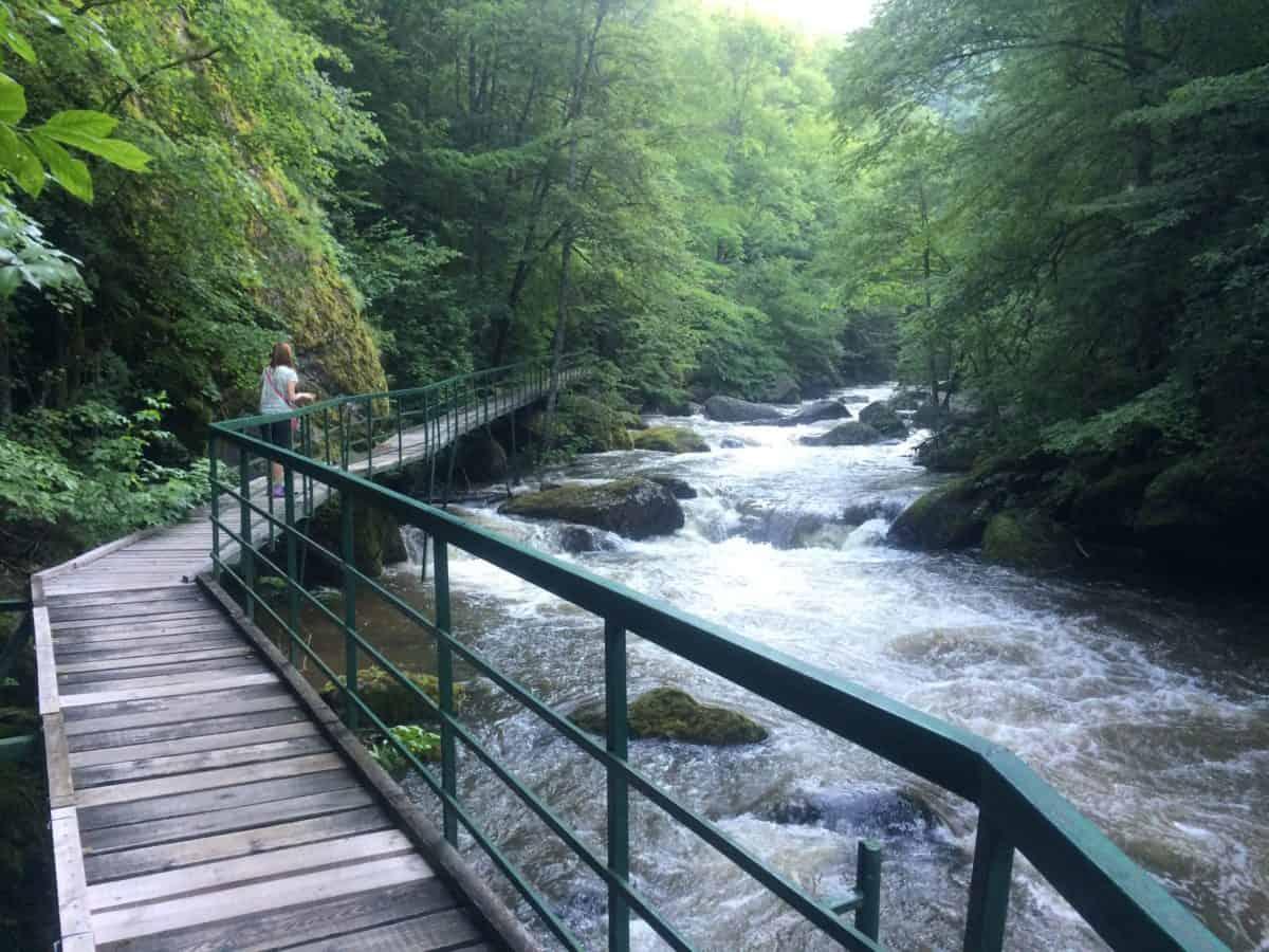 ruta de senderismo en Devin