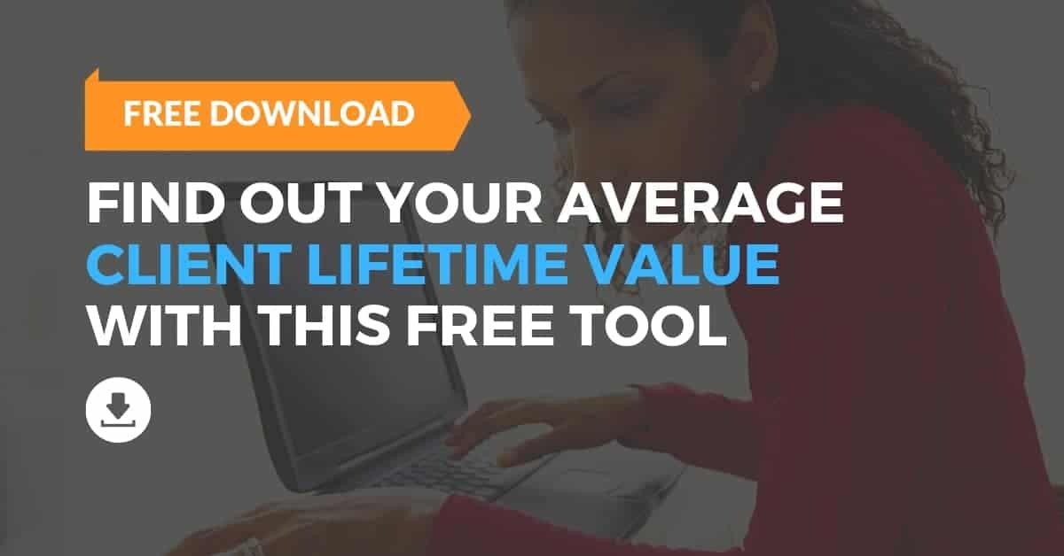 Average Client Lifetime Value Calculator