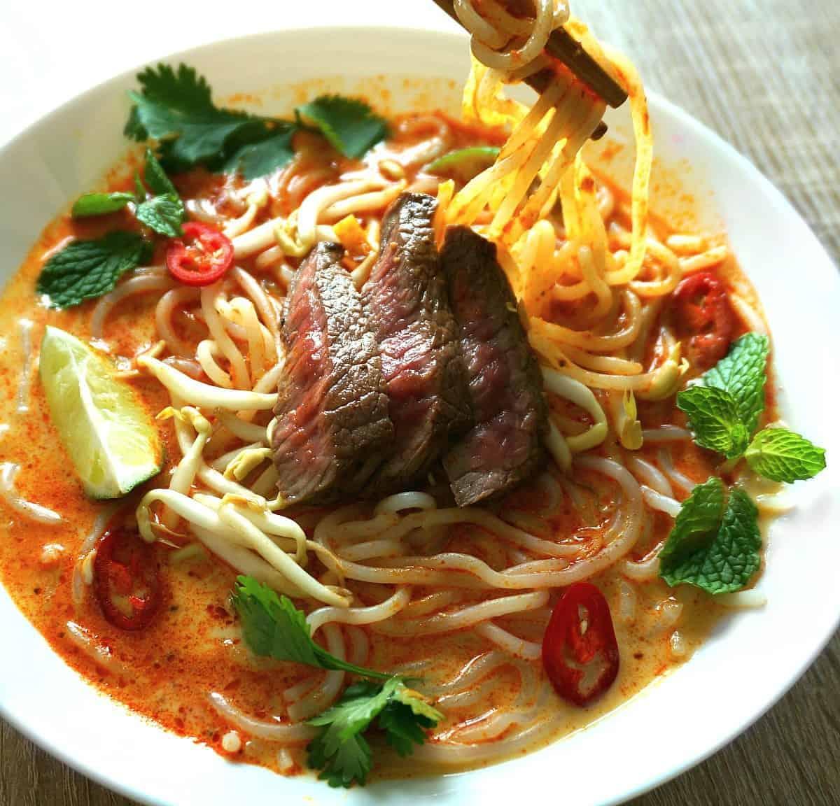 Beef Laksa Recipe