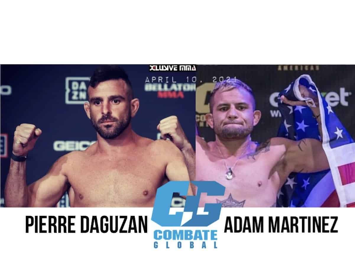 Pierre Daguzan will fight Adam Martinez