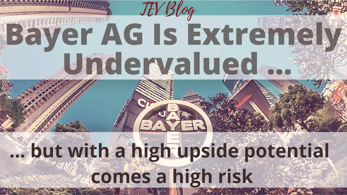 Bayer Stock Analysis TEV Blog The European View Image