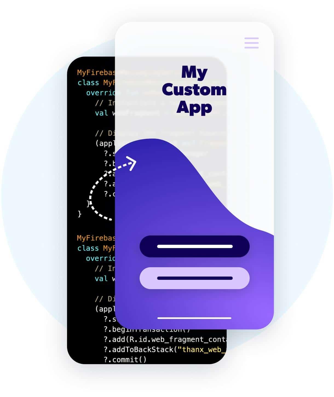 Custom apps via the Thanx APIs