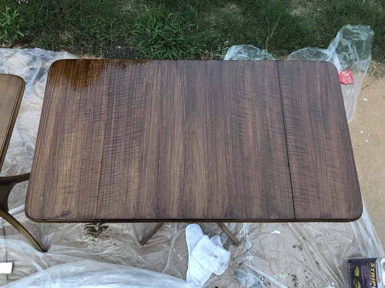 How to Easily Refinish Wood Furniture 12