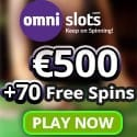 Omni Slots Casino 70 free spins and $500 welcome bonus