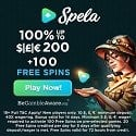 Spela Casino 100 free spins and €1000 welcome bonus