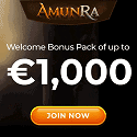 AmunRa Casino €1000 Bonus and 100 Free Spins