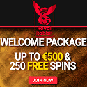 Royal Rabbit Casino 250 free spins and $500 welcome bonus