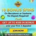 Gday Casino 10 free spins no deposit + $500 free bonus + 50 free spins