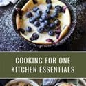 Blueberry dutch baby, chocolate chip cook and lasagna pictures on promo image