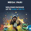 How to get €1500 bonus & 150 free spins to Megapari Casino?