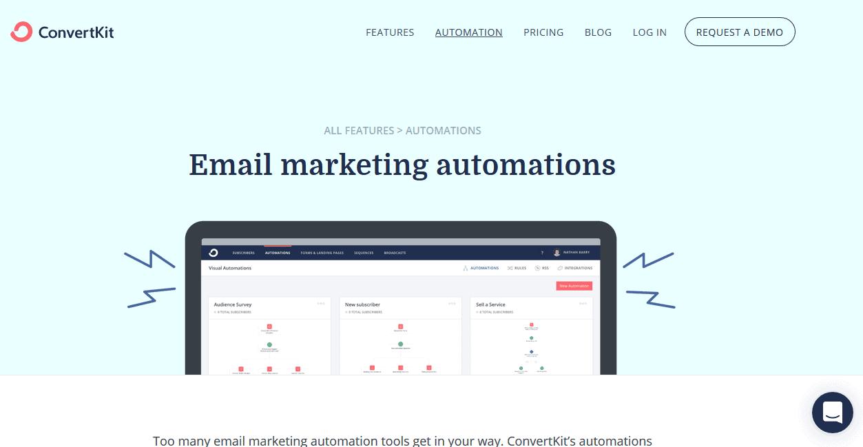 ConvertKit Email Marketing Automation