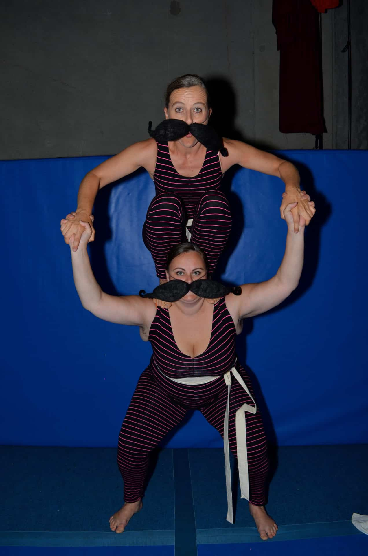 Strong (Wo)men Act performed at a recent One Really Big Circus Show.