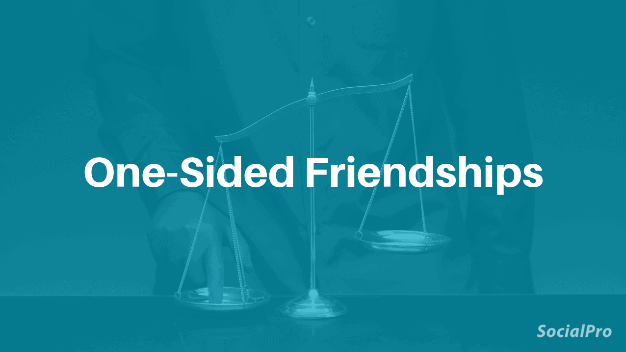 One-sided friendship