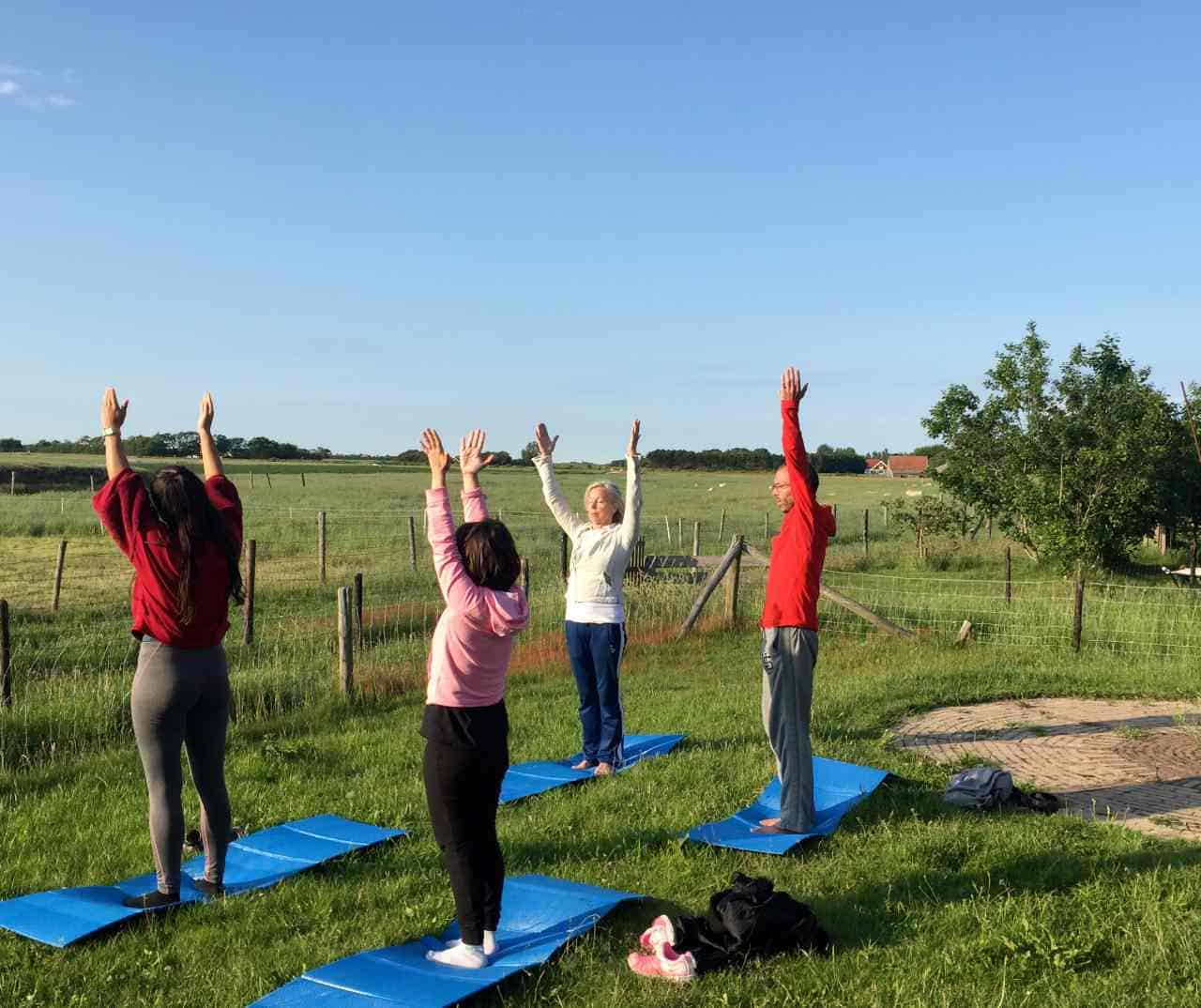 Mindfulness retraite Texel