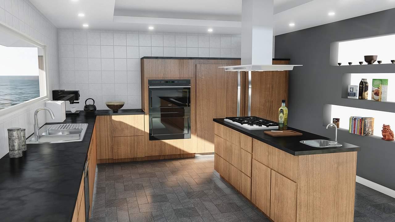 Kitchen Design Modern Contemporary  - qimono / Pixabay