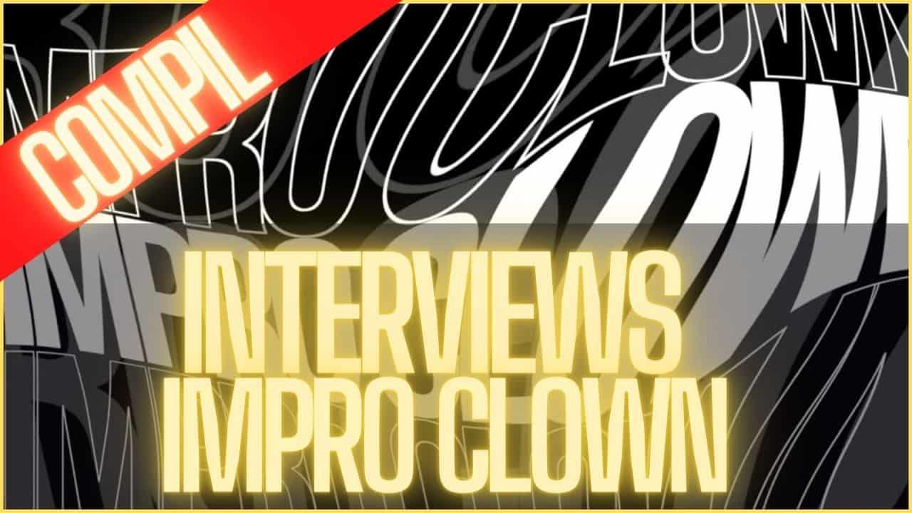 Compilation l'impro clown théâtre - Romain Yvos - Self-retorik