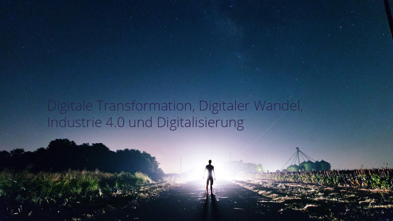 Digitale Transformation – Begriffsklärung