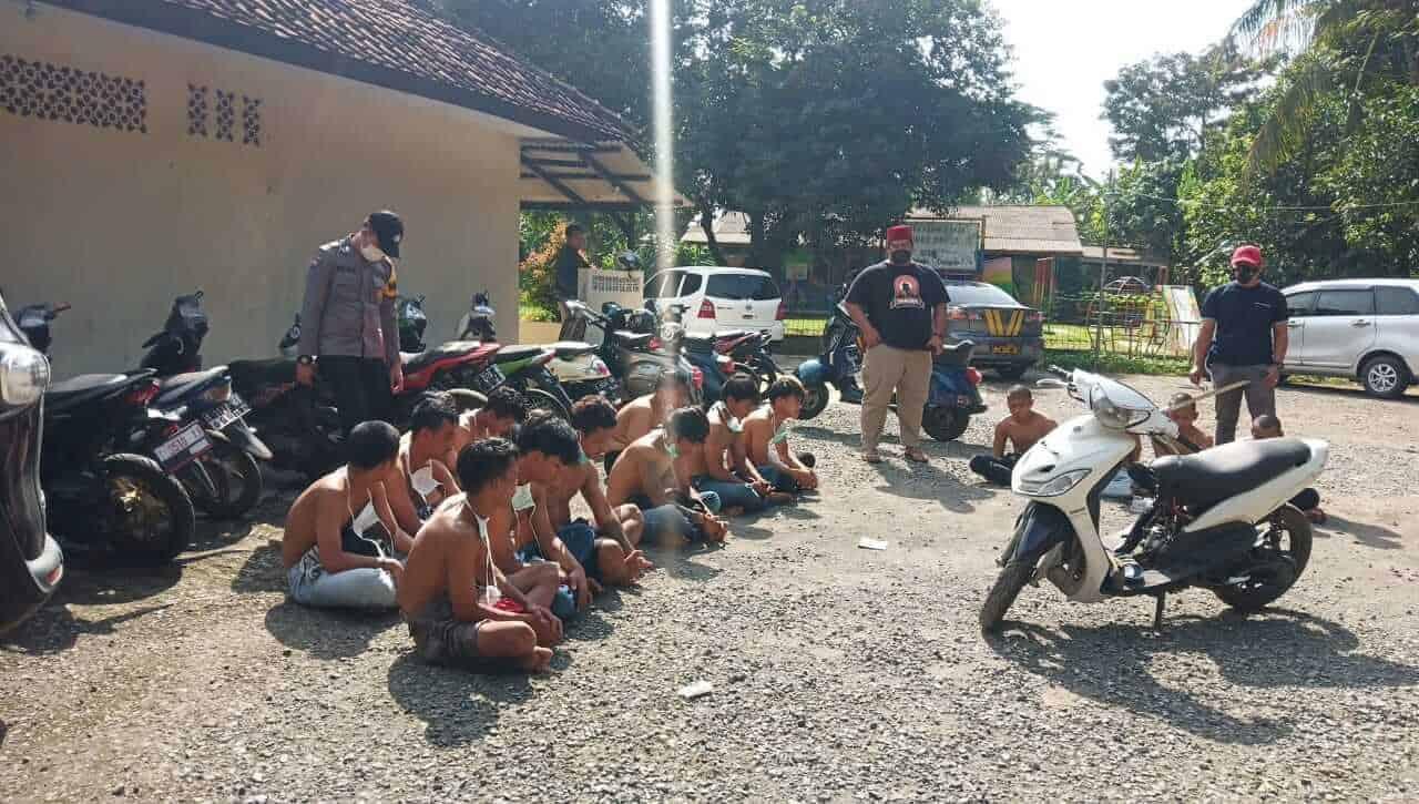 Polsek Bungursari Polres Purwakarta Ringkus Puluhan Pemuda Yang Bikin Resah Masyarakat