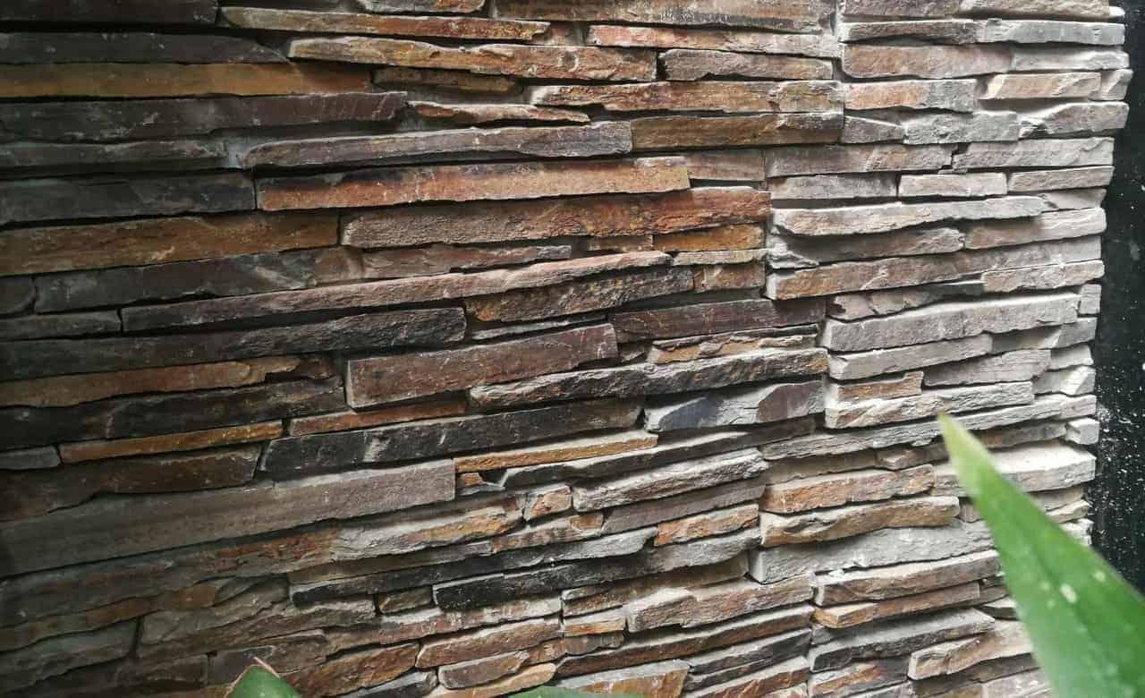 textured brick wall design