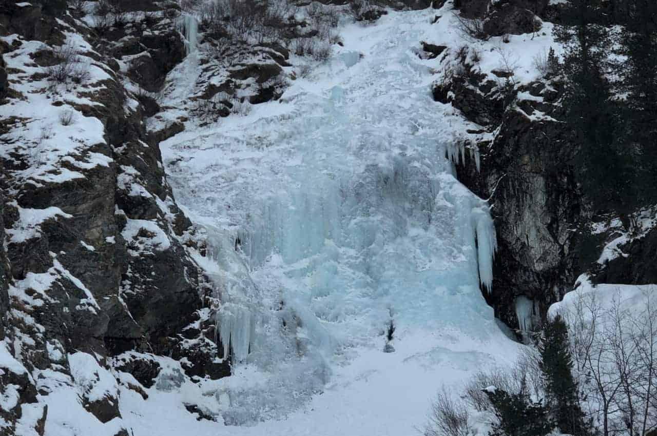 Titelbild Eisklettern im Sellraintal - Eisklettern - Wie ist es wirklich?