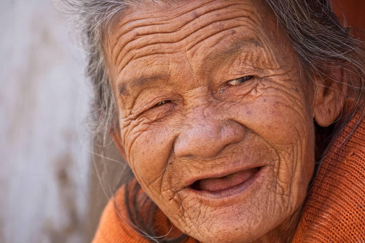 Menschen werden älter