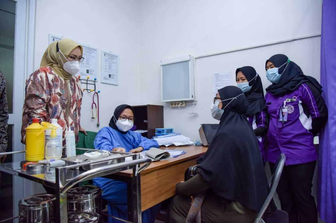 Bupati Anne Ratna Mustika monitoring MOW atau tubektomi