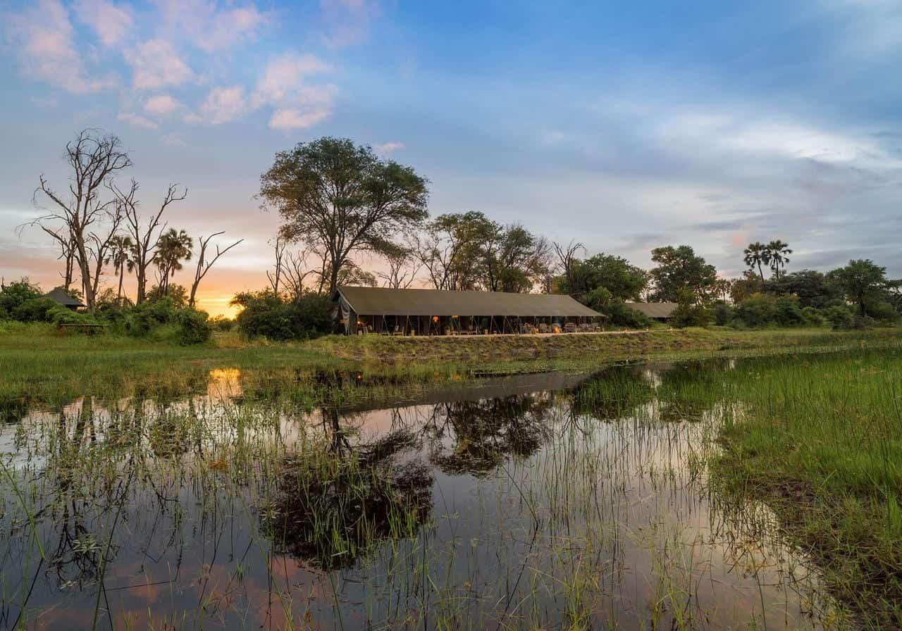Gomoti Plains Camp View
