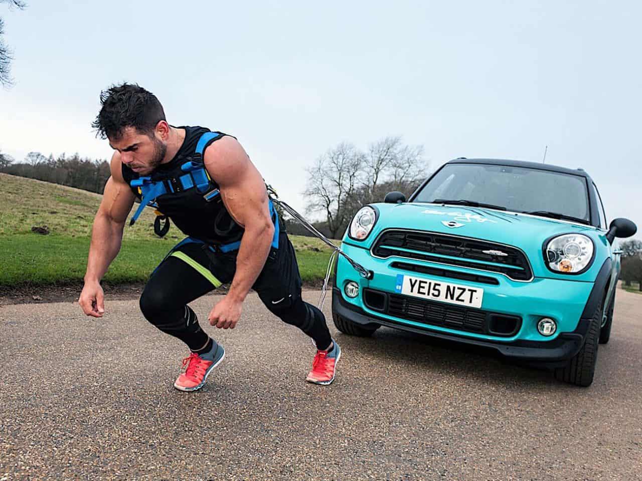 ross Edgley Worlds Fittest Marathon