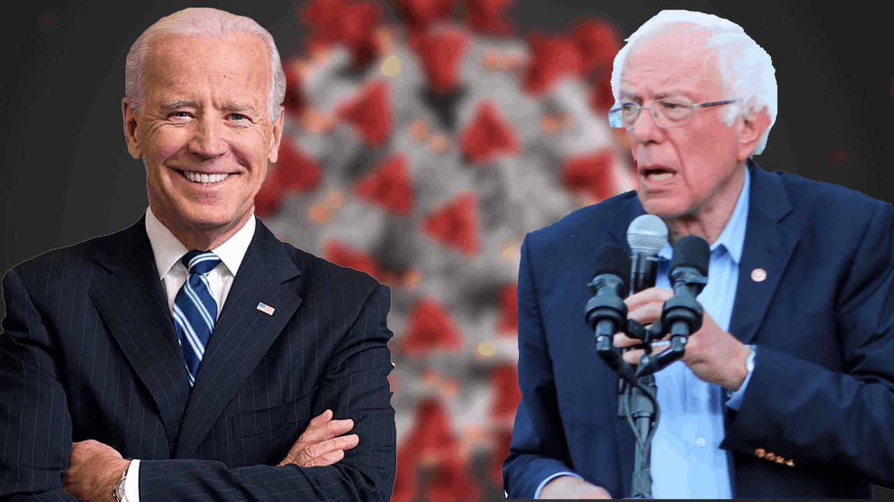 Joe Biden Bernie Sander Coronavirus