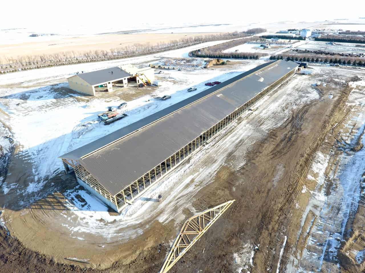 J&P Livestock Manure Storage System by Wieser Concrete