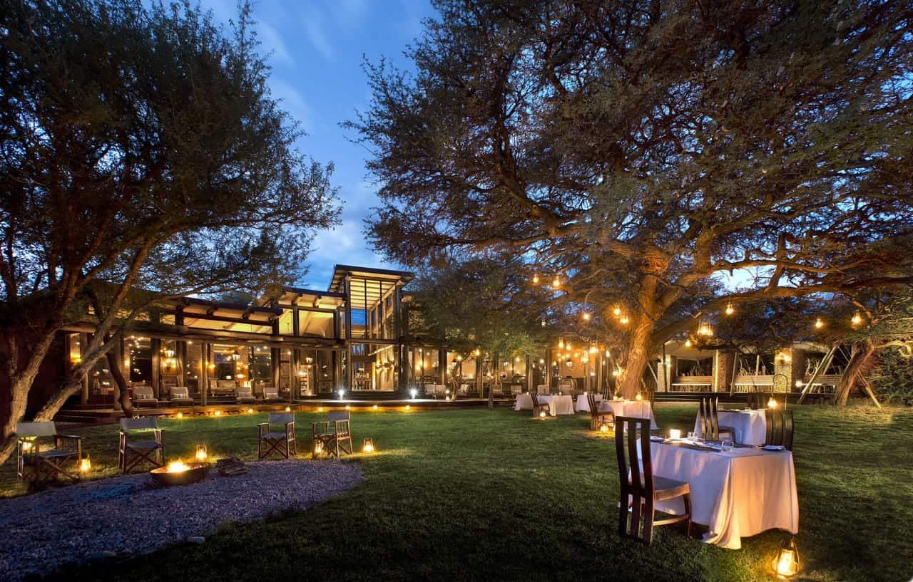 Marataba Safari Lodge Front Lawn