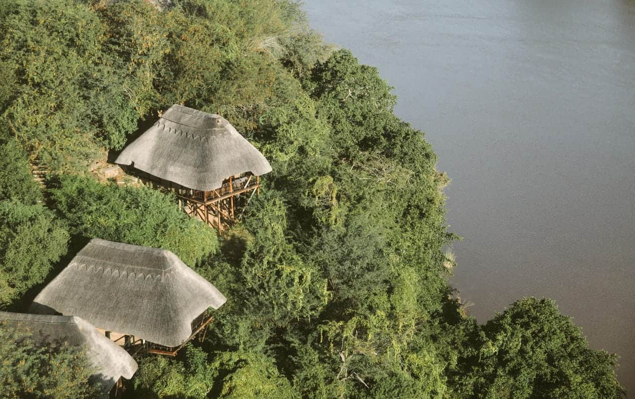 Chilo Gorge Safari Lodge Top View
