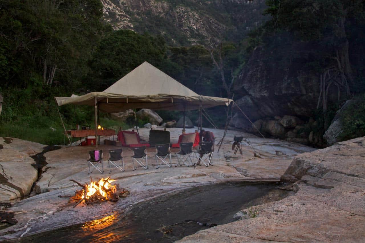 Sarara Star Camp Campfire