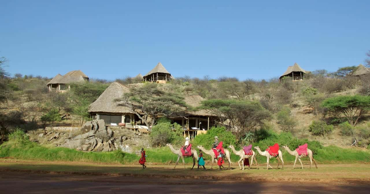Sasaab Lodge View