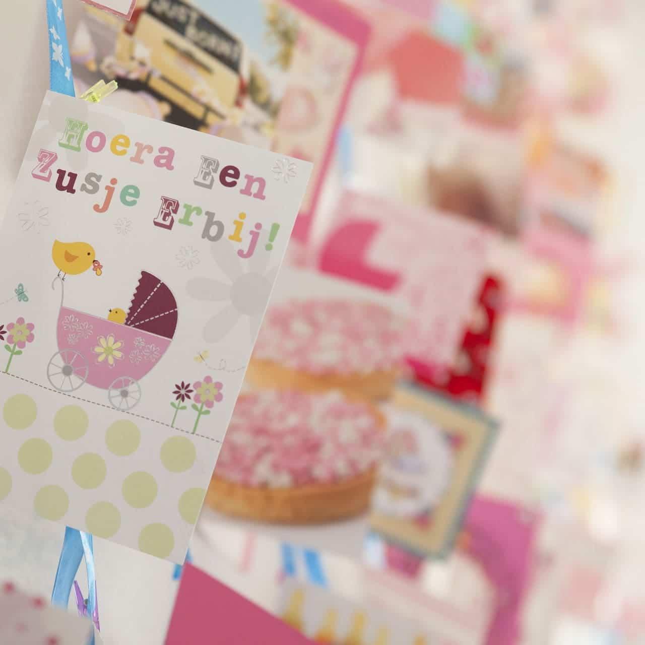 Baby Geburtstagskarte