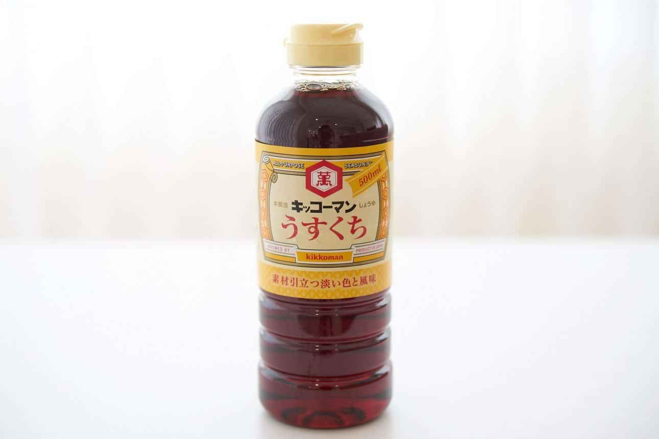 Usukuchi soy sauce is the prefered soy sauce for making soup stocks in the Kansai region of Japan.