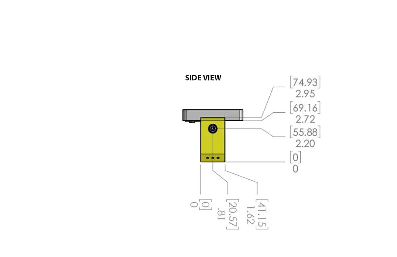 JS-50 WX diagram end view