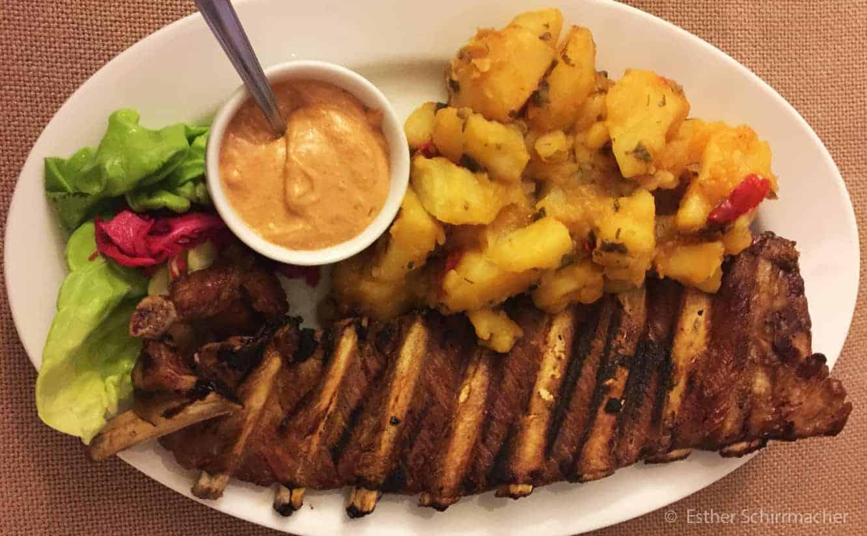 Typisches Essen Rumänien