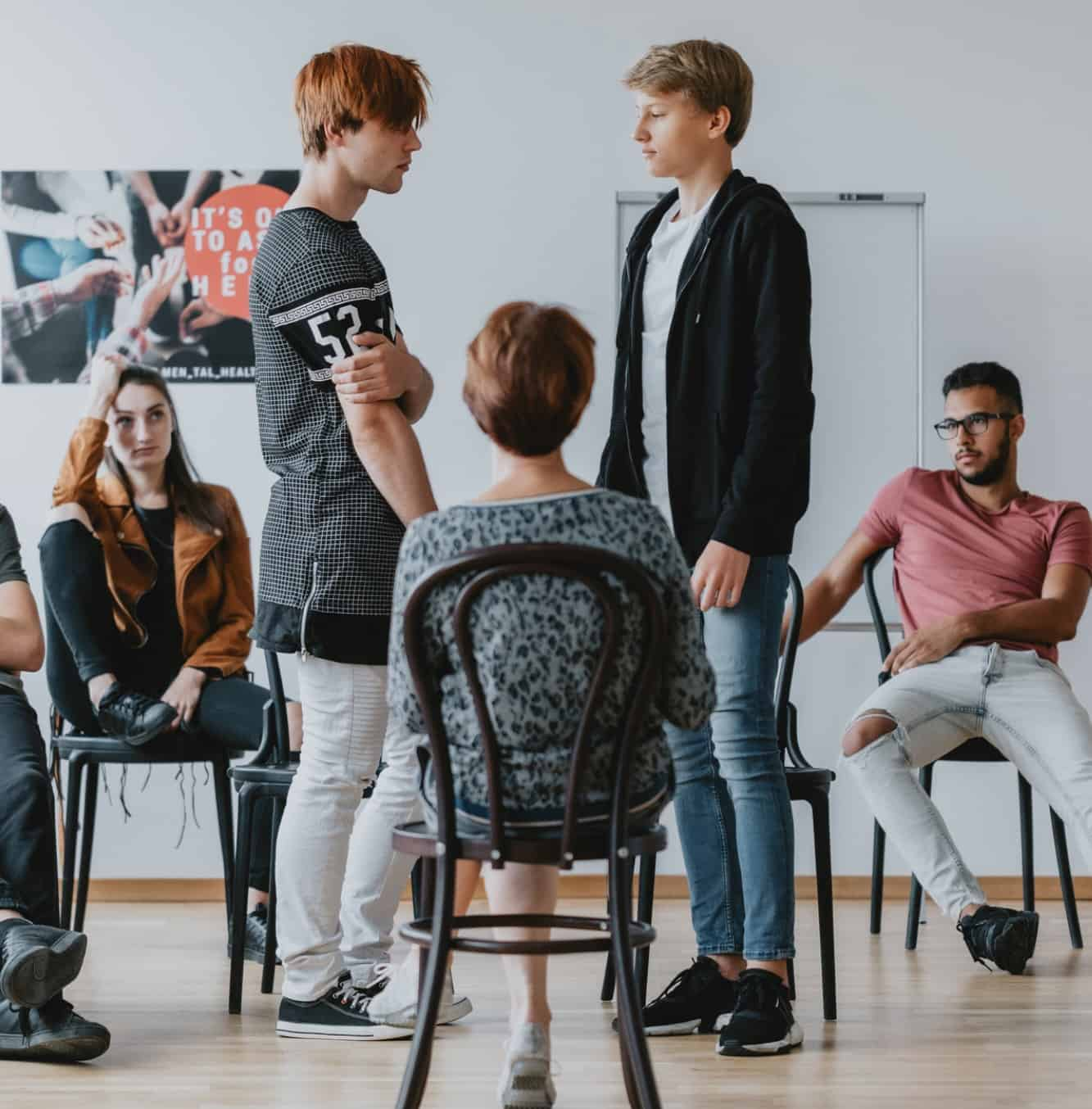 teens in drama therapy