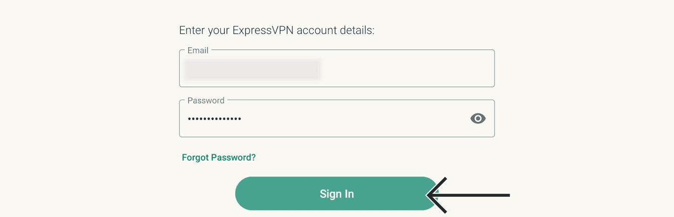 """Select """"Sign In."""""""