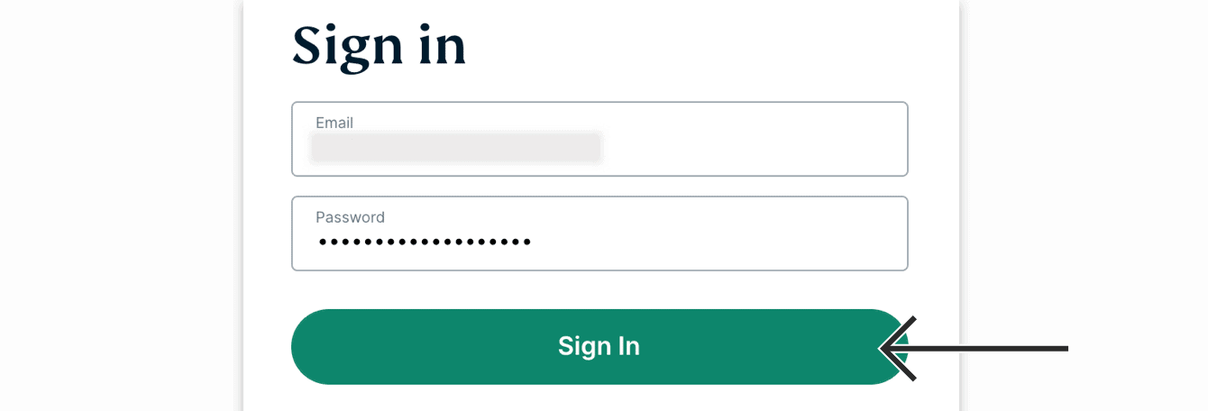 "Enter your account credentials, then click ""Sign In."""