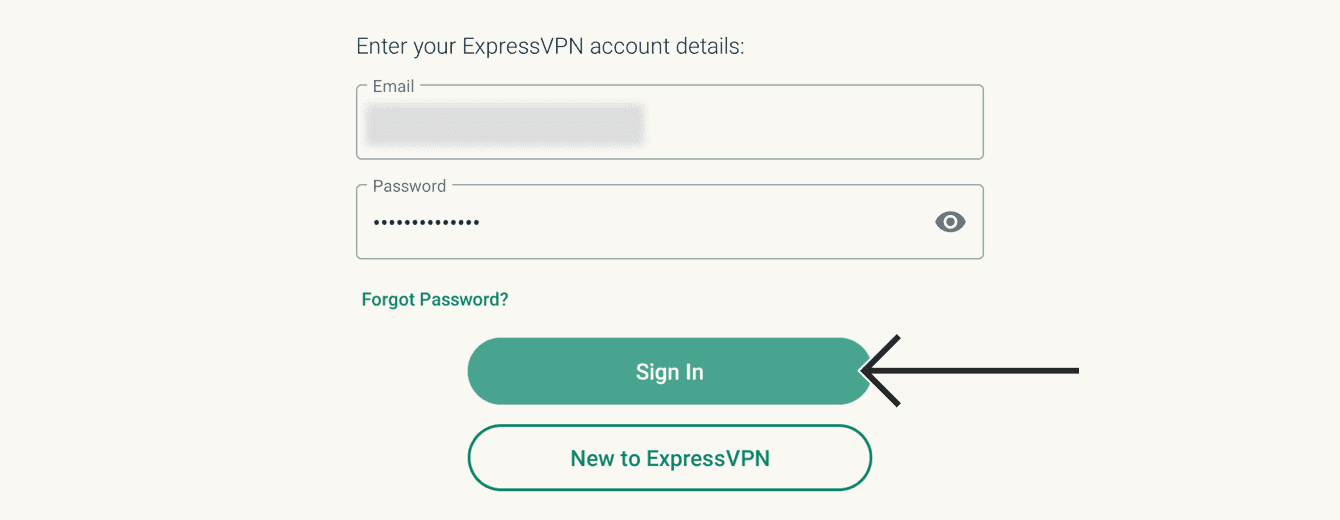"Enter your account details, then select ""Sign In."""