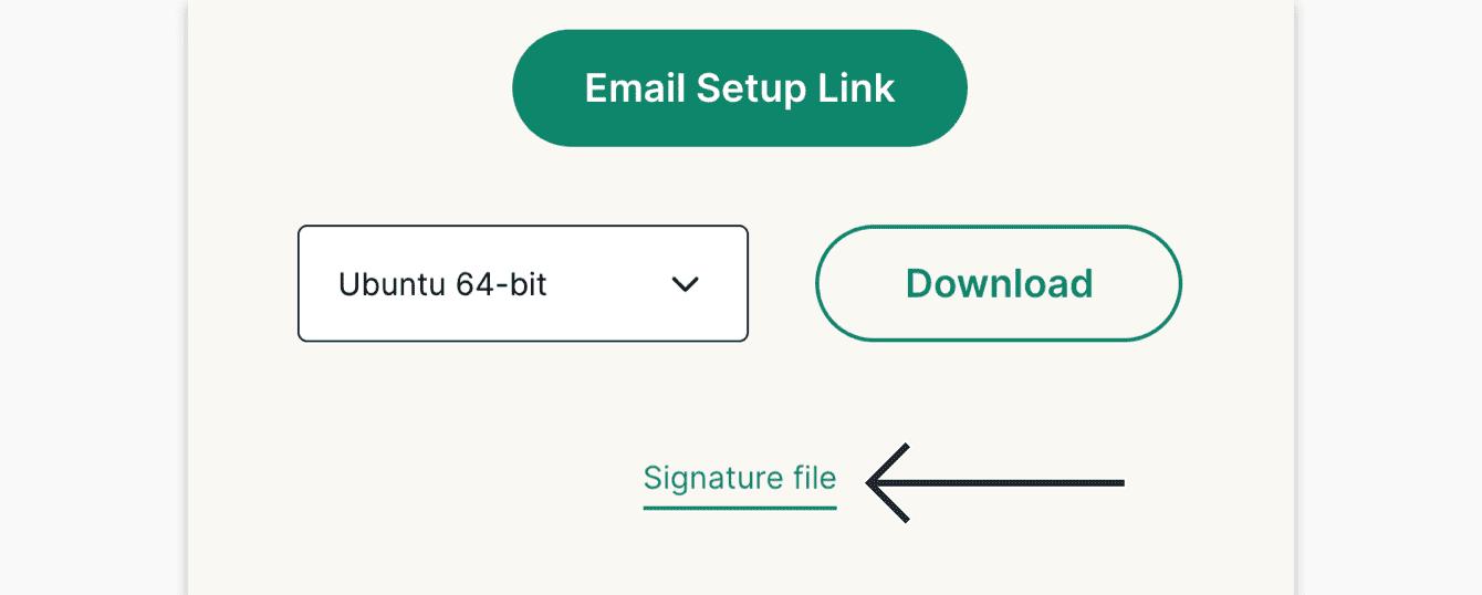 """Click """"Signature file."""""""