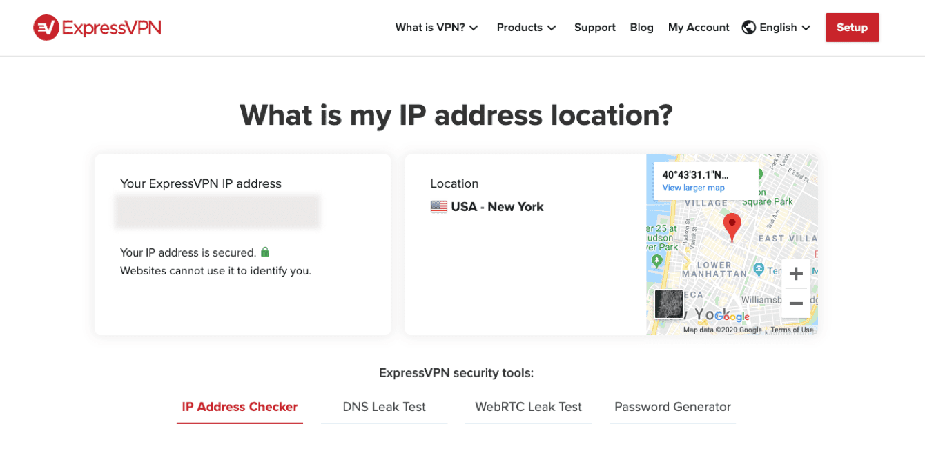 Check if your IP address location has changed.