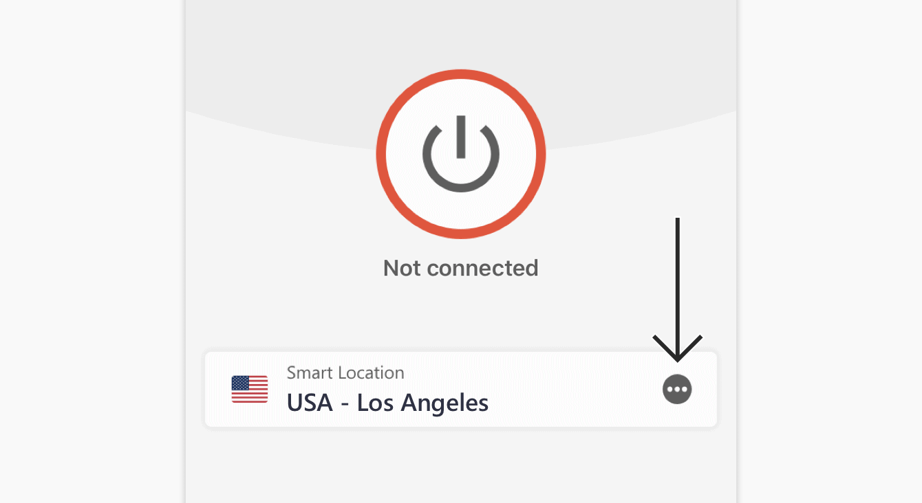 Click the Location Picker to connect.
