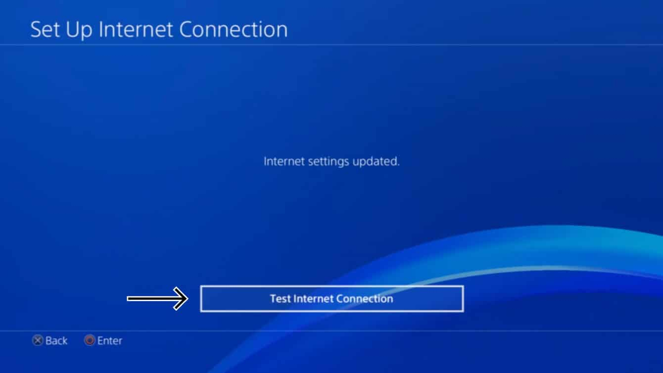 Your internet settings have been updated.