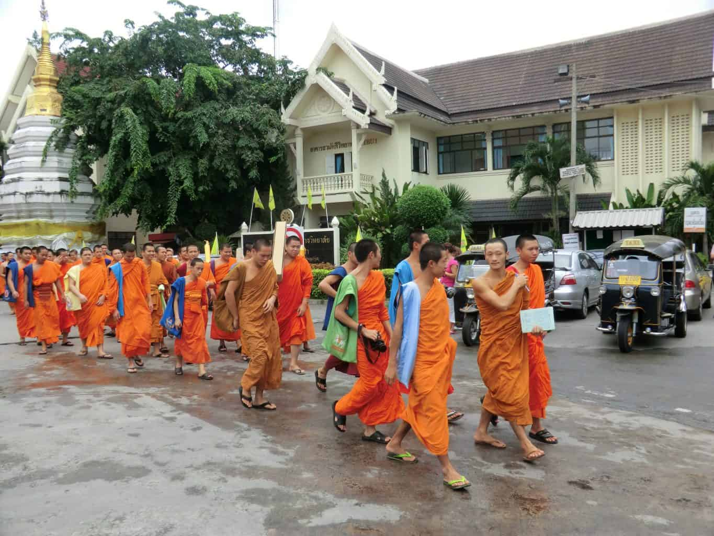 Mönche in Chiang Mai