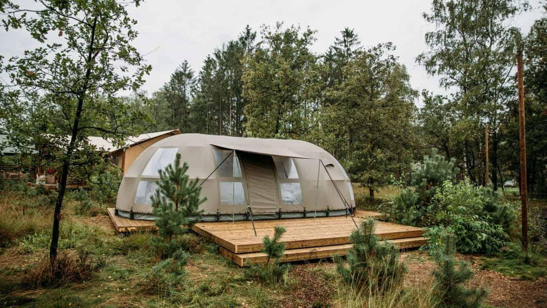 Camping Reeenwissel Glamping Panorama
