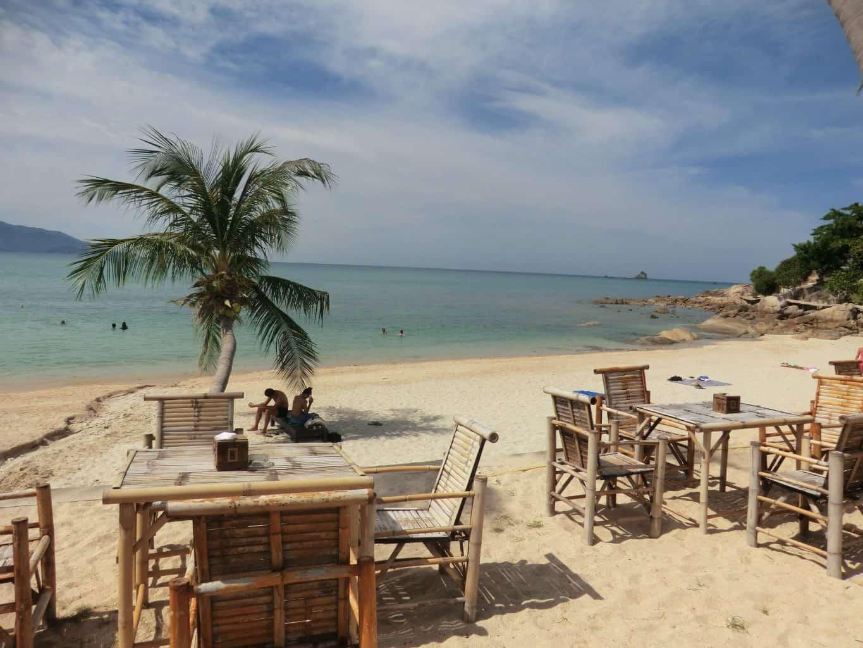Strand auf Ko Samui